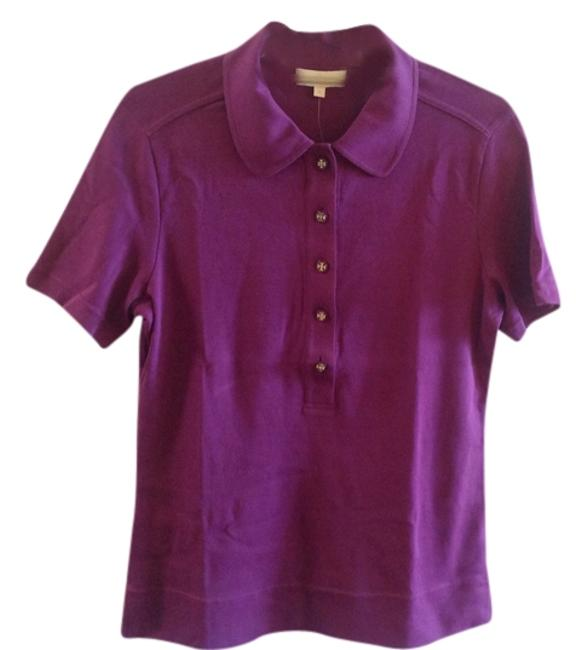 Item - Violet Sleeve Polo Tee Shirt Size 12 (L)