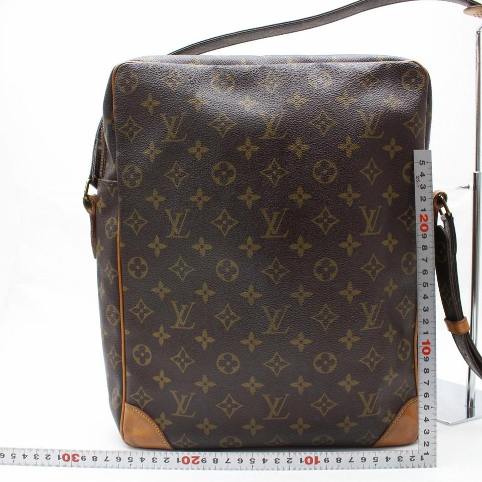 94e5c082f26b Louis Vuitton Danube Monogram Extra Large Gm 866573 Brown Coated Canvas Shoulder  Bag - Tradesy
