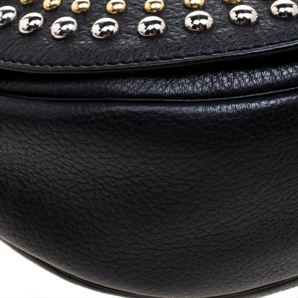 55246e8ff6 Mulberry Leather Studded Cross Body Bag Image 11. 123456789101112