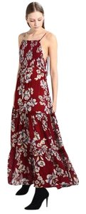 New Burgundy Maxi Dress by Free People