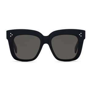 Céline Celine CL41444/S Kim Oversized Black Sunglasses