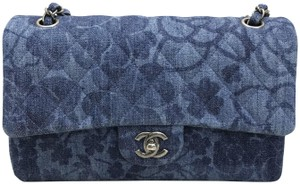 Chanel Denim Medium Cf Shoulder Bag