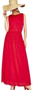 Strawberry Maxi Dress by Zara