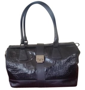 BARBARA Milano Satchel in Black