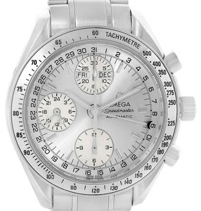 Omega Omega Speedmaster Day Date Chrono Silver Dial Watch 3523.30.00 Card