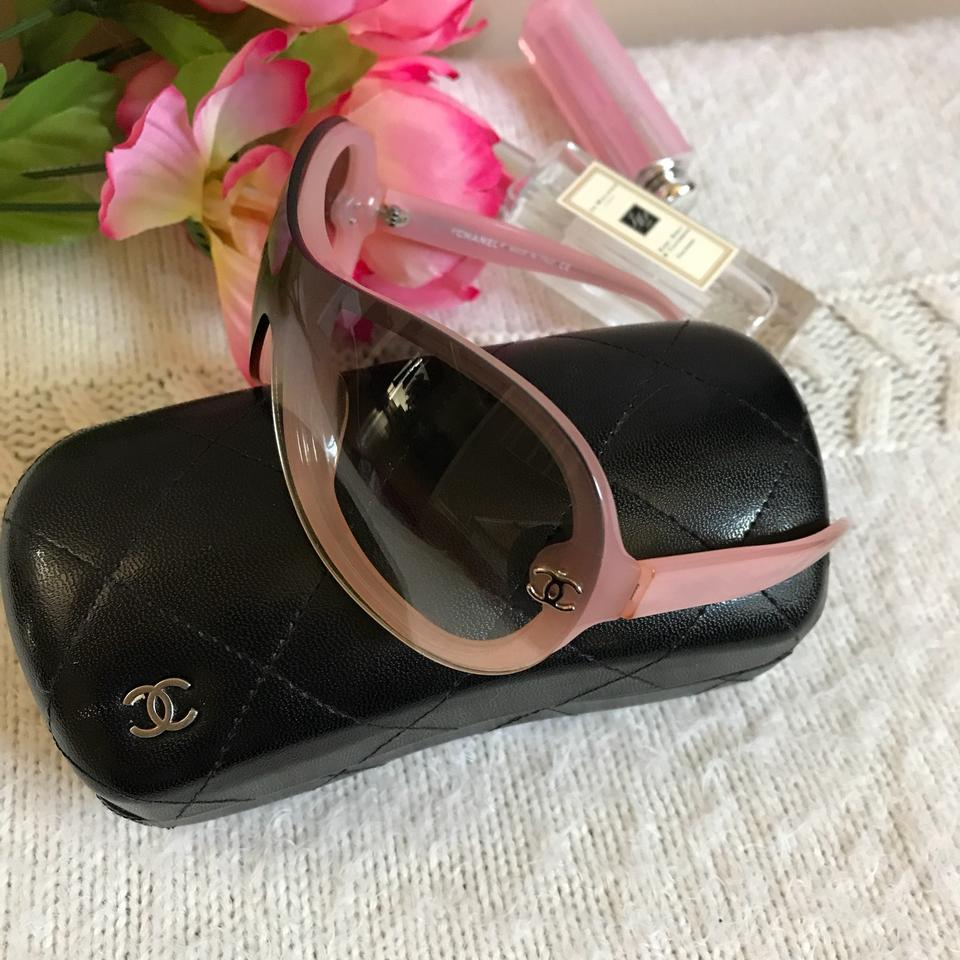 ac6cafcc8c Chanel Pink Pre-owned Sunglasses - Tradesy