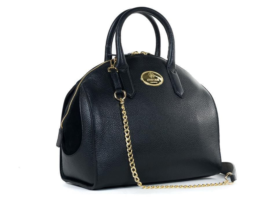 1df3c8357 Roberto Cavalli Roberto-cavalli-womens-black-grained-leather-bowler-handbag- rtl-1450 Black Leather Tote