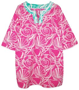 Lilly Pulitzer Cover Up Seashells Cotton Lightweight Tunic