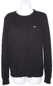 Vineyard Vines Cotton Rayon Cable Knit Sweater