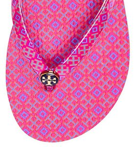 Tory Burch Rubber Pink Sandals