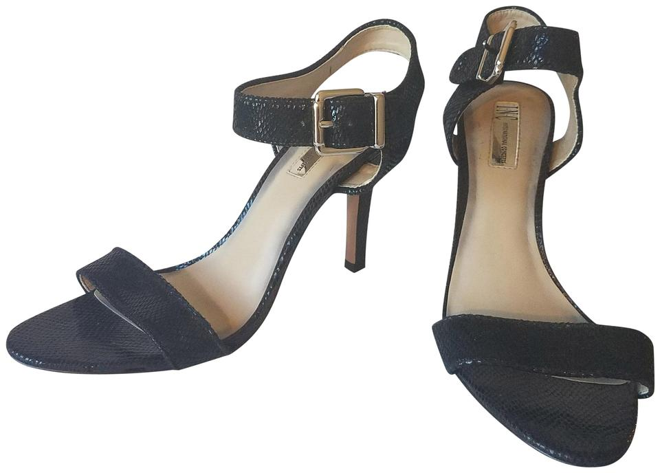 50d5c88f2b9 INC International Concepts Black Sandals Size US 9 Regular (M
