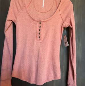 Free People Henley Boho Sweater