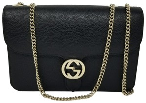 Gucci Marmont Gg Leather New Shoulder Bag