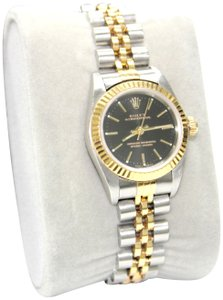 Rolex 18K Two-Tone Rolex oyster perpetual ladies watch