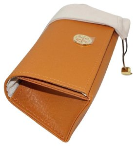 Tory Burch Tory Burch Orange Large Sunglasses Case