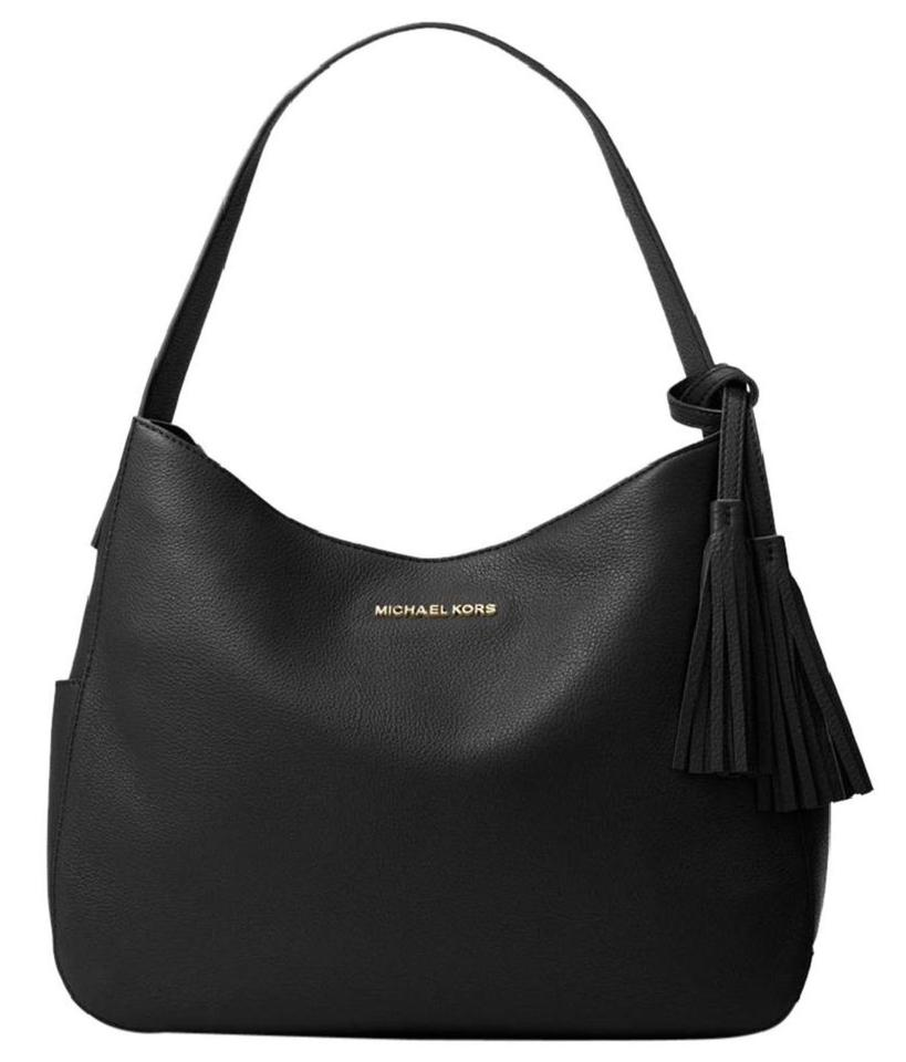 Michael Kors Ashbury Slouchy Venus Leather Hobo Shoulder Bag