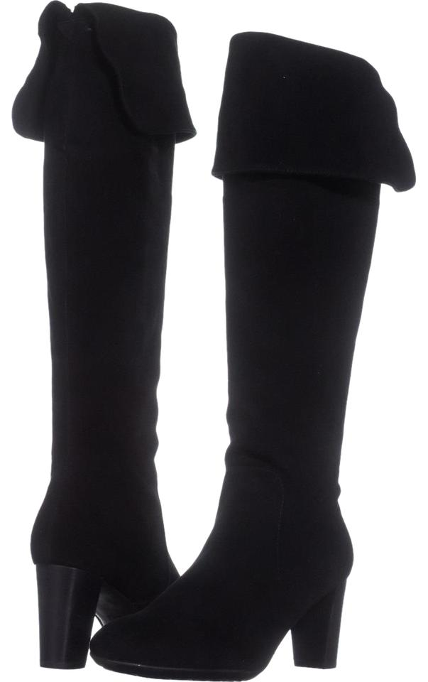 Aerosoles Lavender Black Lavender Aerosoles Over-the-knee 060 Suede Boots/Booties 41aeed