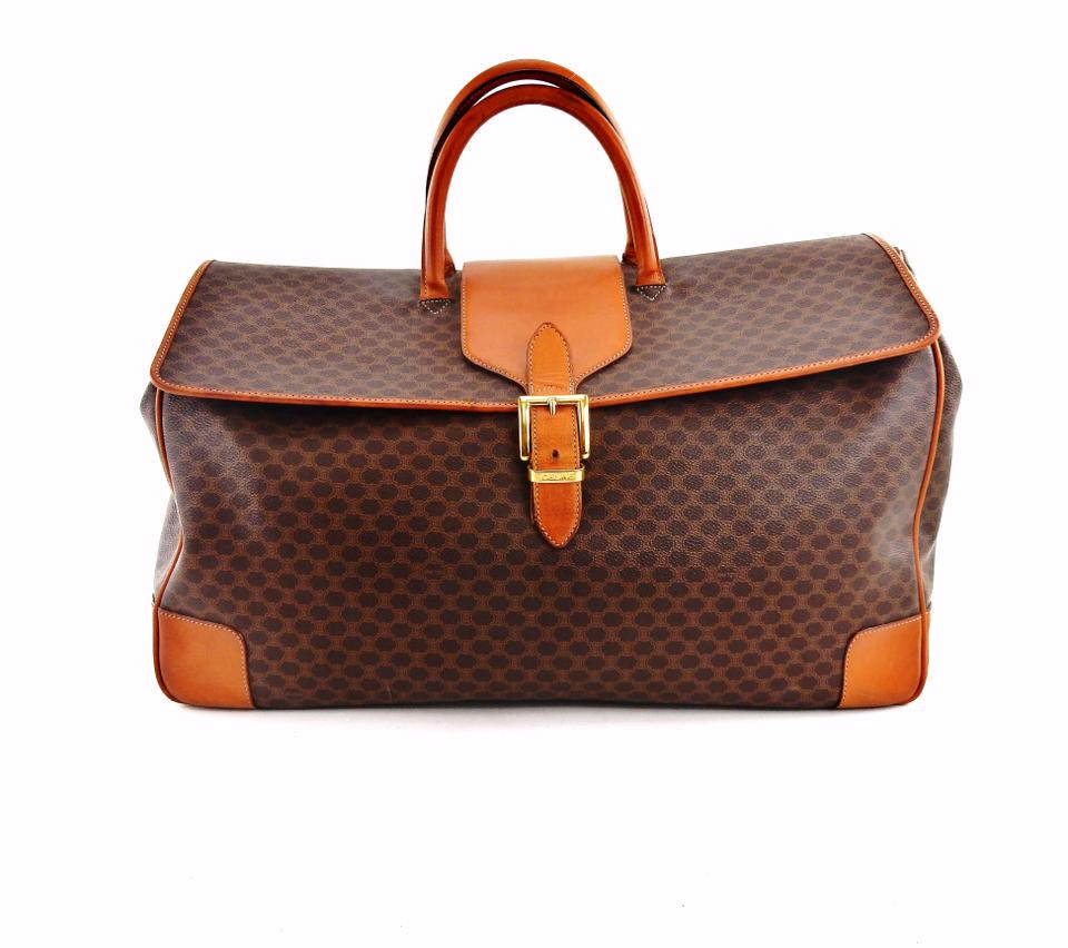 28b9d4bba4b0 Céline Keepall Duffle Monogram Vintage Doctor Brown Travel Bag Image 0 ...