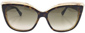 Dior Glisten2 Glitter Cat Eye Sunglasses E59HA