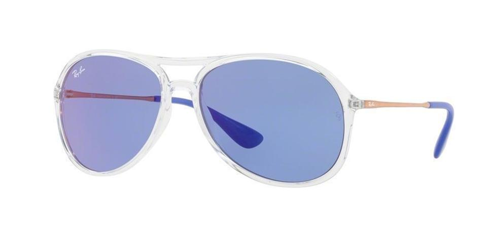 Ray-Ban Transparent & Blue New Men Rb4201 6294/D1 Frame Lens ...