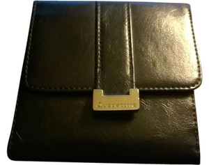 Liz Claiborne Liz Claiborne Black Leather Wallet