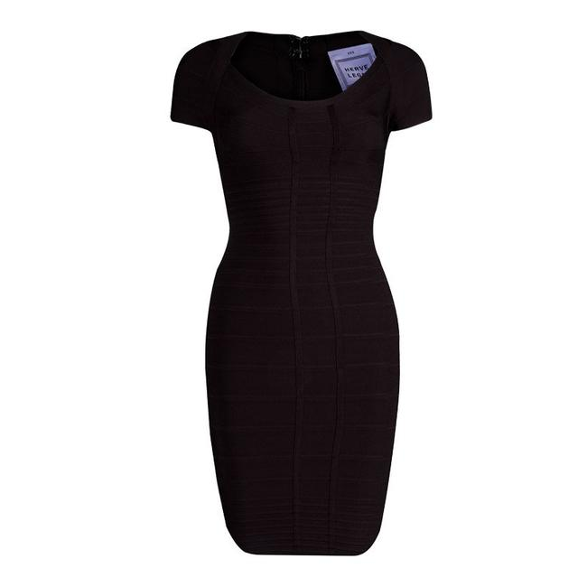 Preload https://img-static.tradesy.com/item/23236007/herve-leger-mahogany-bailey-mid-length-cocktail-dress-size-4-s-0-0-650-650.jpg