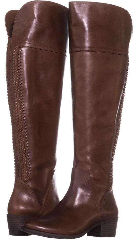 Vince Camuto Brown Bendra Russet Over-the-knee Woven 602 Russet Bendra Boots/Booties cbc6f7