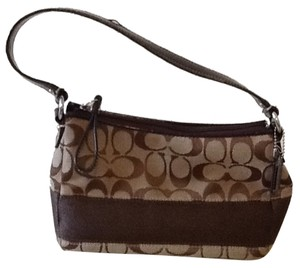 Coach Monogram Hobo Bag
