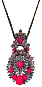 Shourouk Shourouk Swarovski Pink/Crystal Pendant/Necklace