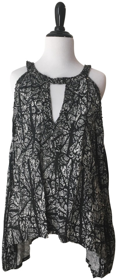 31be1b06c50a9 Free People Cold Shoulder Shirt Blouse Size 2 (XS) - Tradesy