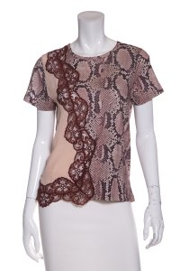 Stella McCartney T Shirt Snake Print