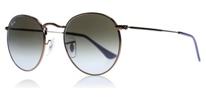 Ray-Ban Ray Ban Unisex Sunglasses RB3447 900396 Dark Bronze Frame Grey Lens