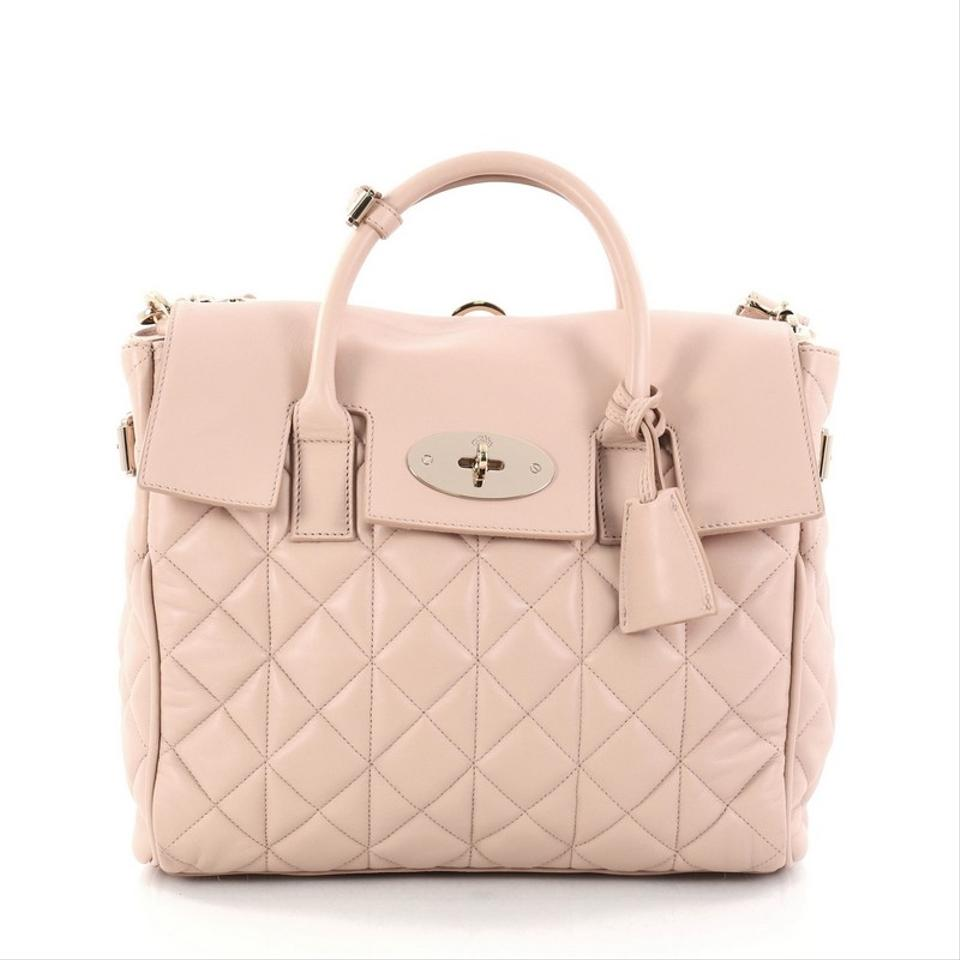 2f500cb54d42 Mulberry Cara Delevingne Convertible Quilted Medium Light Pink ...