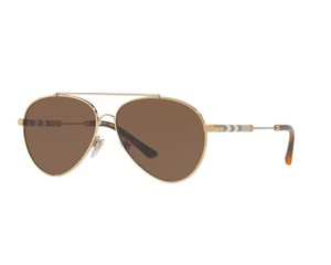 d1c279d05ccf Burberry New Burberry Women Sunglasses BE3092Q 114573 Beige Frame Brown Lens