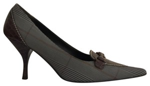 Linea Paolo Pointed Toe grey Pumps