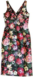 Dolce&Gabbana Dolce & Gabbana D&g Floral Print Sheath And Sexy Dress