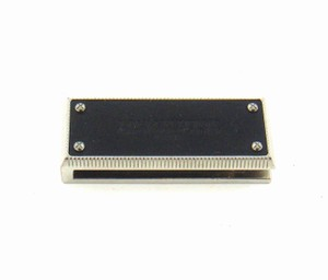 Louis Vuitton Stainless Steel Leather Money Bill Clip