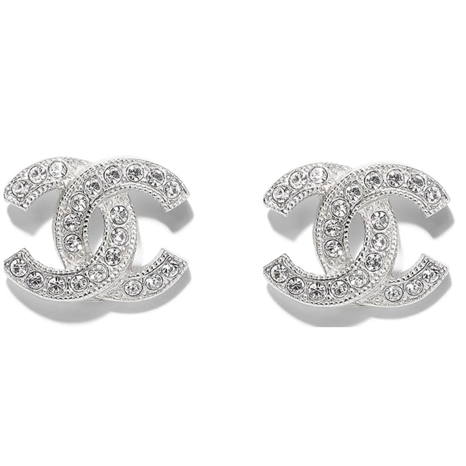 elegance en pandora rose stud clear and classic earrings cz