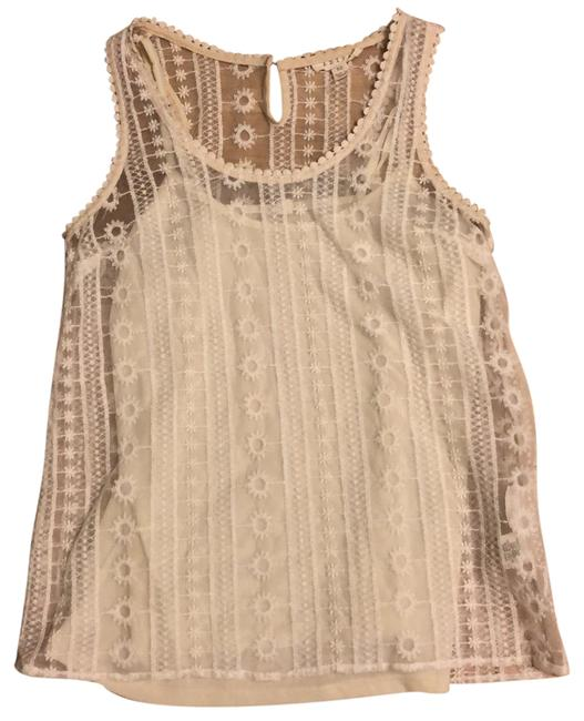 Item - Ivory Summer Festival Tank Top/Cami Size 0 (XS)
