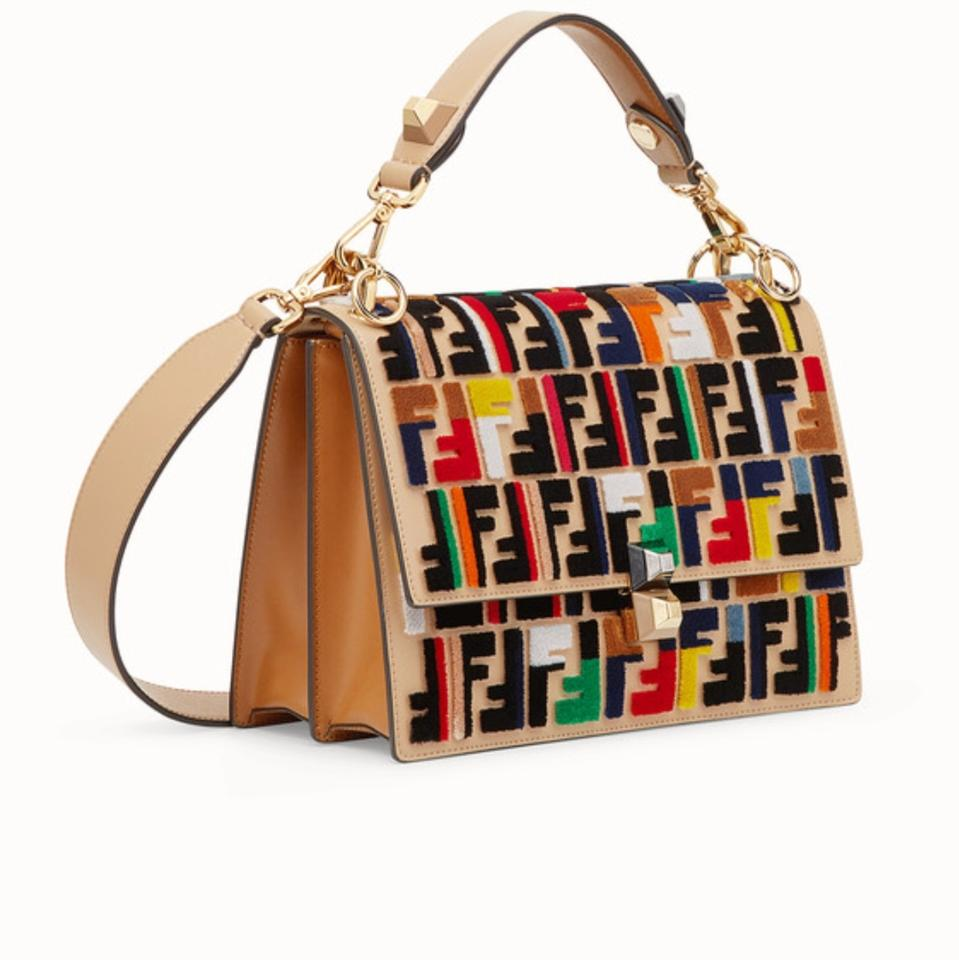bb38c6fa4d Fendi Multicolor and Fabric Leather Cross Body Bag - Tradesy