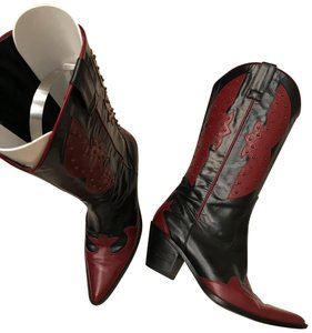 Preview Collection black and red Boots