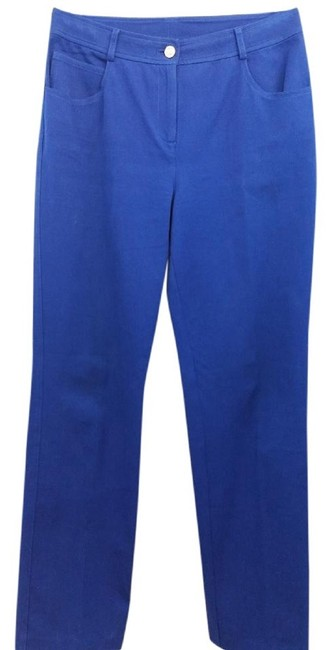 Item - Blue Yellow Label Stretchy Casual Pants Size 4 (S, 27)