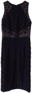 Maggy London Shealth Lace Panelling Cut Out Dress