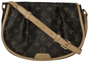 Louis Vuitton Menilmontant Lv Menilmontant Monogram Cross Body Bag