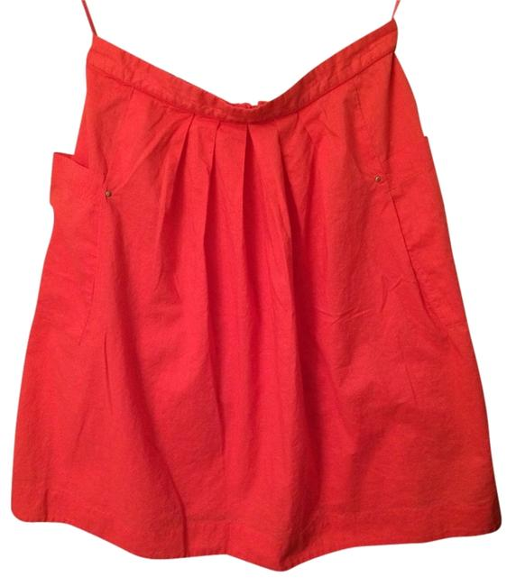 Anthropologie Skirt Coral