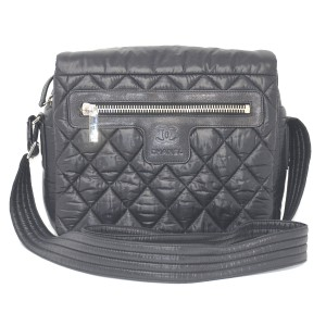 6d328a530b05be Added to Shopping Bag. Chanel Coco Cocoon Handbag Cross Body Bag. Chanel  Cocoon Coco Black Nylon ...