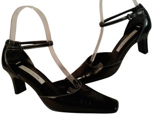 Maripé Wedge Ankle Strap Heel BLACK Formal