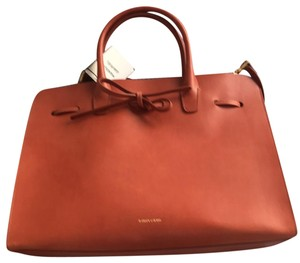 Mansur Gavriel Tote in neutral, vegetable leather, brown, beige
