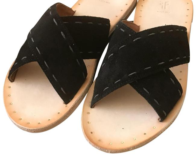 Item - Black Avery Sandals Size US 6.5 Regular (M, B)