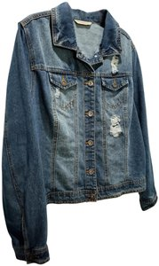 Highway Jeans Distressed Womens Jean Jacket